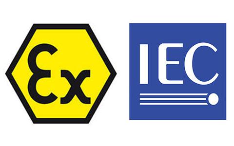 IECEx认证和ATEx认证的标志